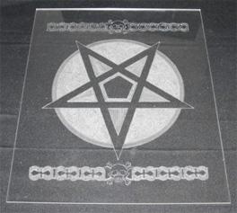 Лист прозрачного оргстекла  толщина 2 мм  размер 306x282 мм