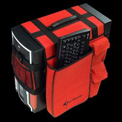 Моддерская сумка   красная