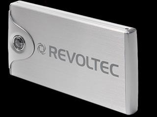 Внешний контейнер REVOLTEC FILE PROTECTOR серебр  для  HDD ide  2 5   USB 2 0