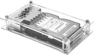 Внешн  контейнер для HDD REVOLTEC ACRYLIC CASE для 3 5     прозрачный  IDE
