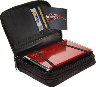 Внешн  контейнер для HDD   Alu book2  2 5   RUBY RED