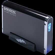Внешн  контейнер для HDD   Alu book2  3 5   BLACK SHINE