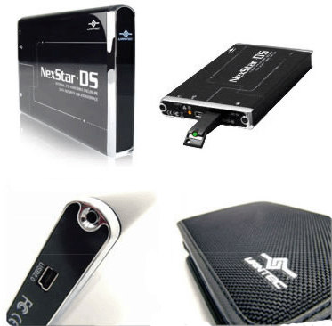 Внешний контейнер с шифрованием и ключами Vantec Nexstar3 NST 260DS BK 2 5   IDE