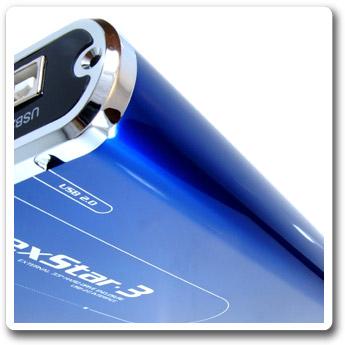 Внешн  контейнер NexStar 3 для HDD 2 5    Vantec  IDE  синий