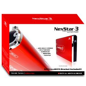 Внешн  контейнер NexStar 3 для HDD 2 5    Vantec  SATA  красный