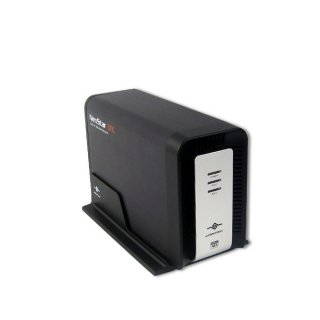 Внеш  контейнер Vantec Nexstar MX NST 400MX S2 для двух HDD 3 5    SATA  JBOD