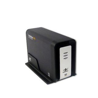 Внеш  контейнер Vantec NexStar MX  NST 400MX SR для двух HDD 3 5   SATA  Raid0 1