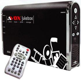 Контейнер AVOX 200S2 для HDD 3 5  с пультом  с возм  подключ  к телевиз   черн