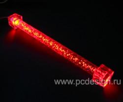Лампа   красный пузырьковый светильник  16 5  см