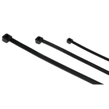 Набор черных стяжек для кабеля 150шт  3 размера  HAMA 20622