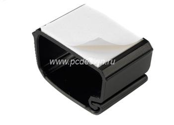 Крепеж для кабеля пластиковый  самоклеющийся  черный  1шт   HAMA 20589
