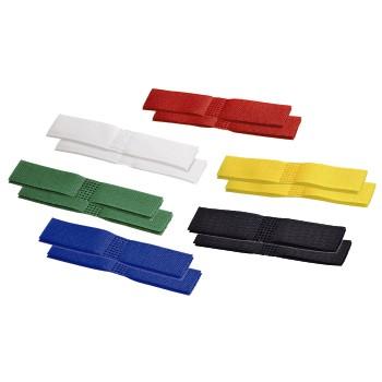Крепежные липучки самоклеющиеся разноцветные 12шт  Hama 83157