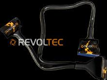 IDE шлейф Revoltec  3 коннект   60 см  цвет   черный