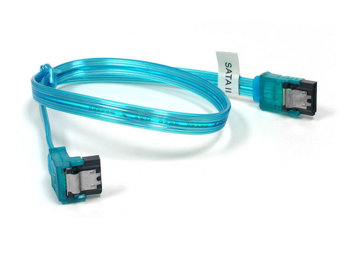 SATA   II  Флуоресцентный кабель синего цвета