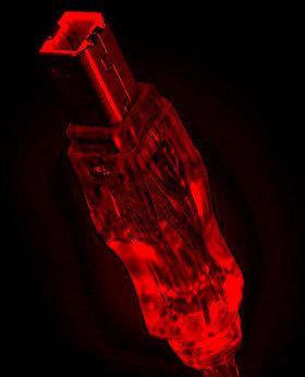 Кабель GEMBIRD USB2 0 с красной подсветкой  длина 1 8 м  экранированный  A В