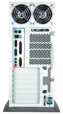 Корпус Arctic Cooling Silentium Т2  Full ATX Midi Tower  серебр   бп   450Вт
