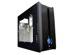 Моддерский корпус Symmetry  цвет черный  с блоком питания 400W
