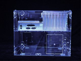 Sunbeam UFO Acrylic Cube Case прозрачный акриловый UV  корпус