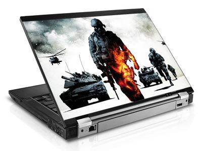 Наклейка на ноутбук     Battlefield bad company   420 x 279 мм  глянц