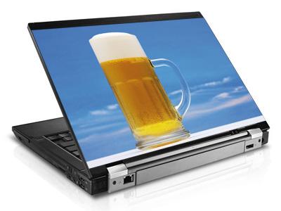 Наклейка на ноутбук     Beer   420 x 279 мм  глянц