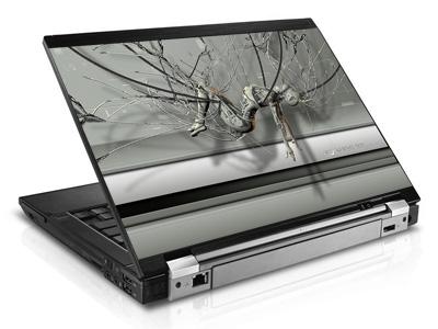 Наклейка на ноутбук     Cyber Life   420 x 279 мм  глянц