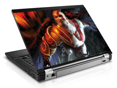 Наклейка на ноутбук     God of war   420 x 279 мм  глянц