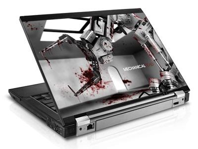 Наклейка на ноутбук     Mechanical Dead   420 x 279 мм  глянц