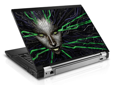Наклейка на ноутбук     Shodan   420 x 279 мм  глянц