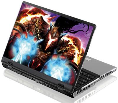 Наклейка на ноутбук     World of Warcraft  380 x 260 мм  глянц