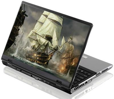 Наклейка на ноутбук     Napoleon total war  380 x 260 мм  глянц