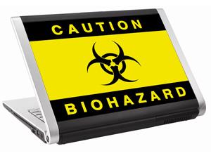 Наклейка на нетбук     Biohazard  297х223 мм  глянц