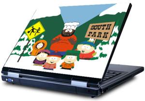 Глянцевые обои для ноутбука    South park