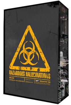 Обои для корпуса  Full тауер     Biohazard  casewrap  Размер 48 5Х65