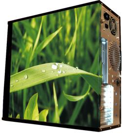 Глянцевые обои для корпуса  миди тауер     Grass   Размер 48Х43