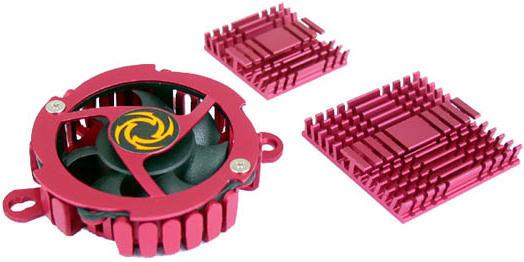 Набор охлаждения   Revoltec Chipset cooling kit