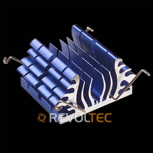 Радиатор для чипсета северного моста Revoltec Northbridge Freezer  синиий