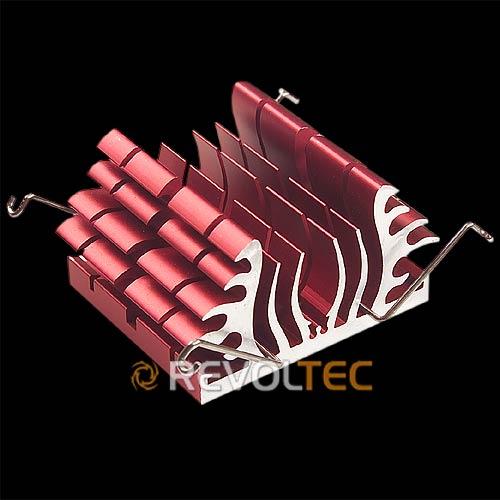 Радиатор для чипсета северного моста Revoltec Northbridge Freezer  красный