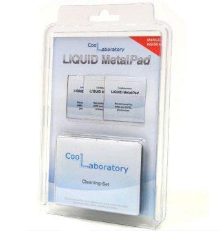 Набор терм прокл  для CPU Coollaboratory Liquid MetalPad  3шт 38х38мм и чист наб