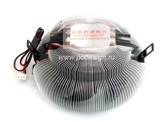 Универсальный кулер проц  CoolerTech CT IA2 AL алюм  для 775 и AM 2