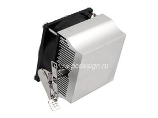 Кулер проц  CoolerTech CTC SK8 AL алюм  для AMD 754 939 940 AM 2