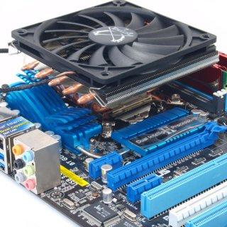 Низкопрофильный кулер для процессора Big Shuriken 2 SCBSK-2000 Intel и AMD