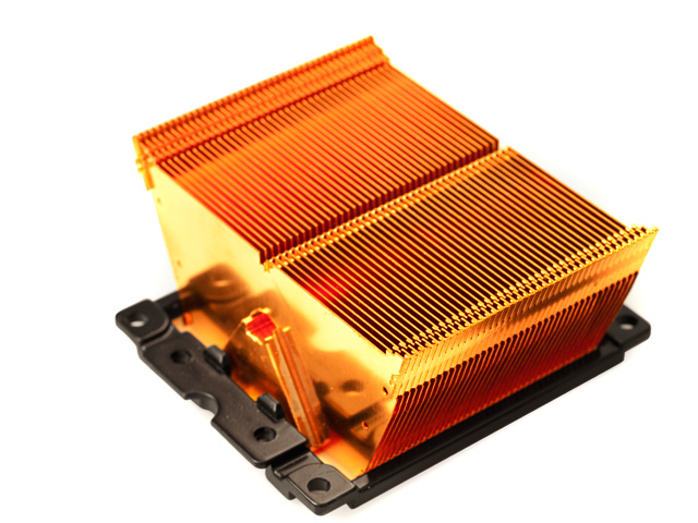 Радиатор для процессора медный Sytrin Waffer K4H для socket 478 754 939 604