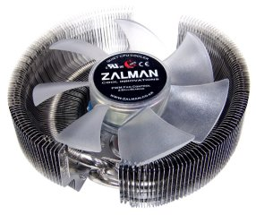 Кулер для процессора Intel и AMD Zalman CNPS8700 NT с синей подсветкой