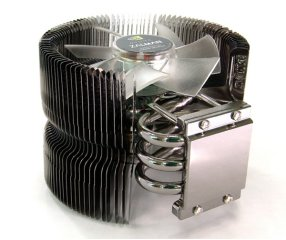 Кулер для процессора AM2 Zalman CNPS9500 AM2 с зеленой подсветкой