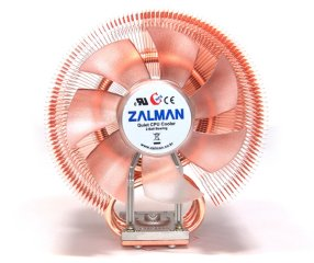 Кулер для процессора Intel и AMD Zalman CNPS9700 LED с синей подсветкой 1156