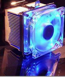 Кулер для AMD Duron AthlonXP 2800  socket A   вентилятор с синей подсветкой