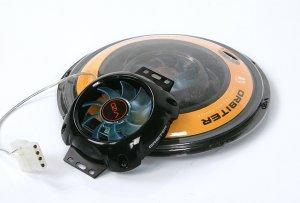 Кулер для охлаждения жесткого диска VIZO ORBITER   с синей подсветкой