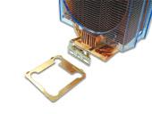 Радиатор HT 102 медный для CPU