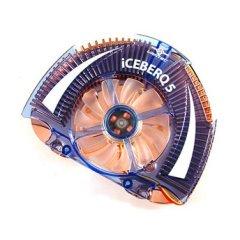 Кулер для видеокарты Iceberq5  с синей подсветкой и радиаторами для BGA