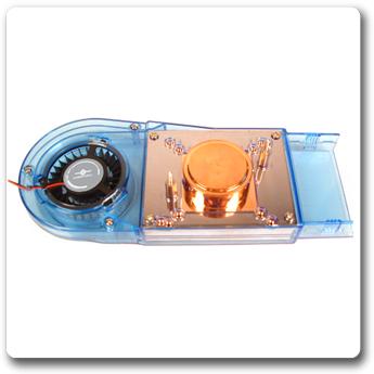 Супер комплект охлаждения Vantec IceBerg 6  для VGA с радиаторами чипов памяти